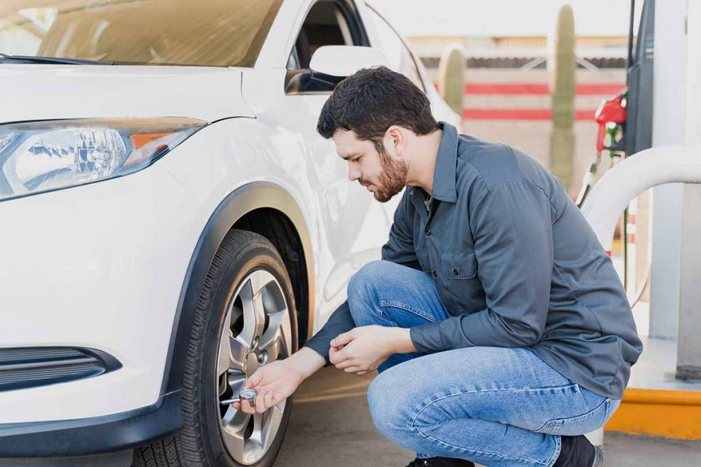 Car Care Tire Inspection