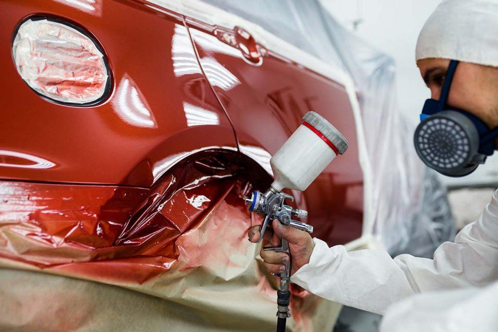 Collision Repair Painting