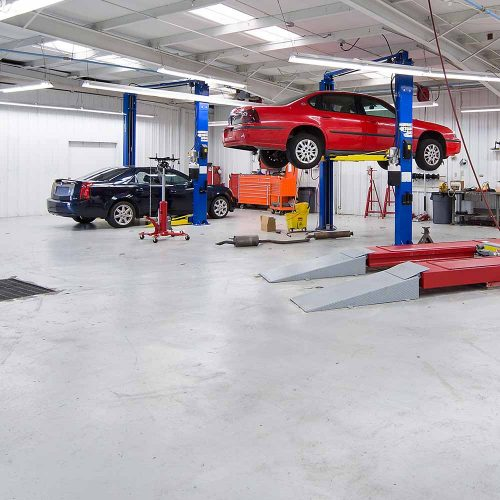 Shelton Automotive Garage